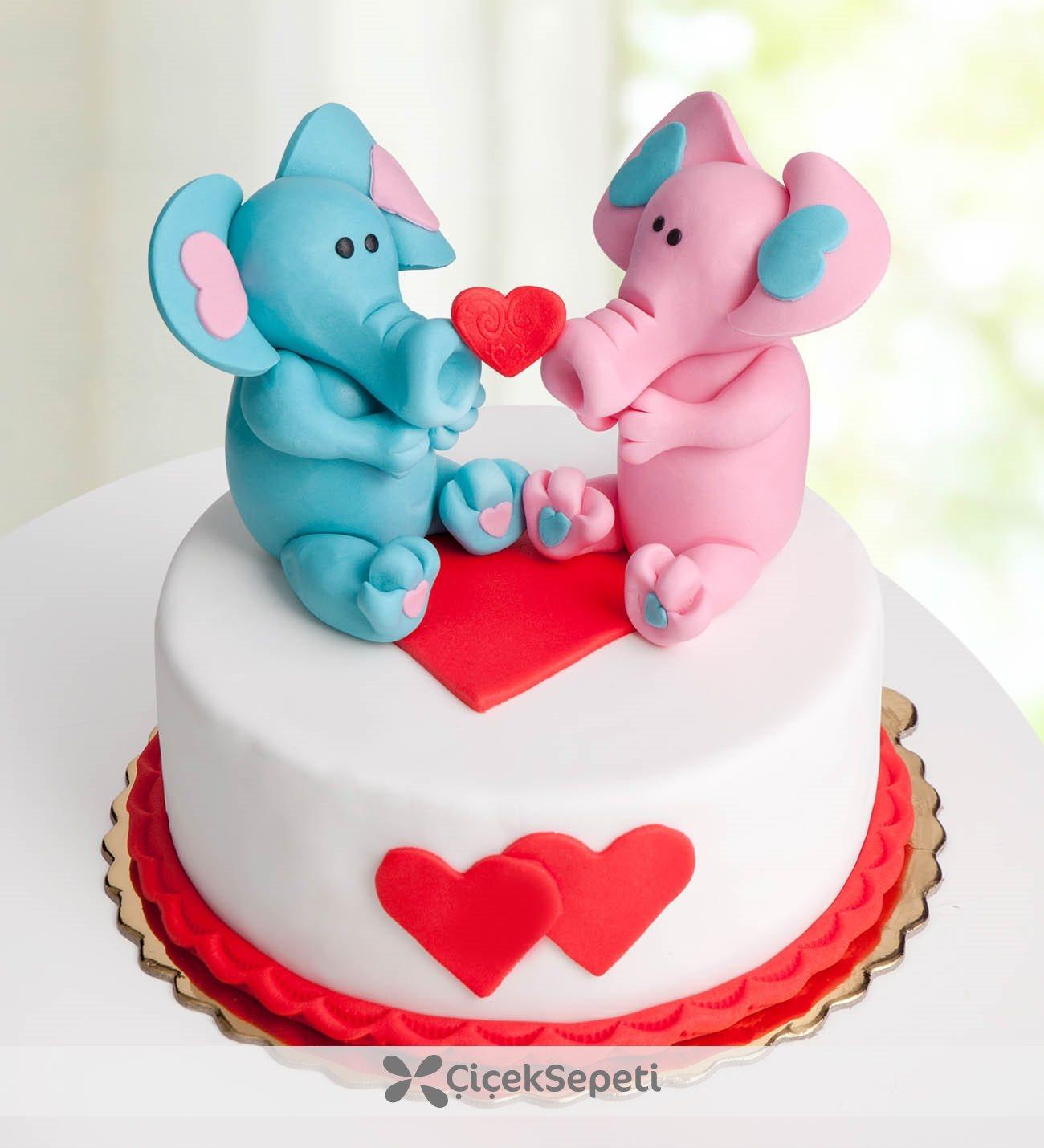 Sevgiliniz İçin Romantik Pasta Modelleri