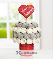 sweet love kek buketi