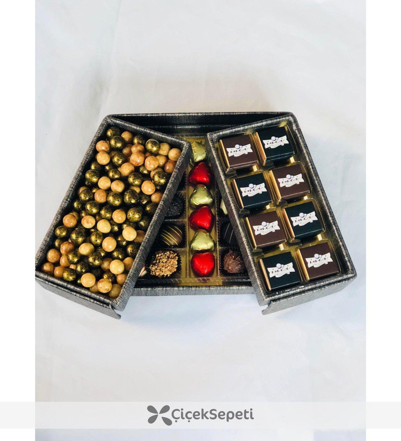 Çikolata Sepetinde Tiramisu