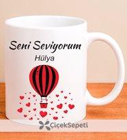 hariti design - kişiye özel aşk temalı kupa
