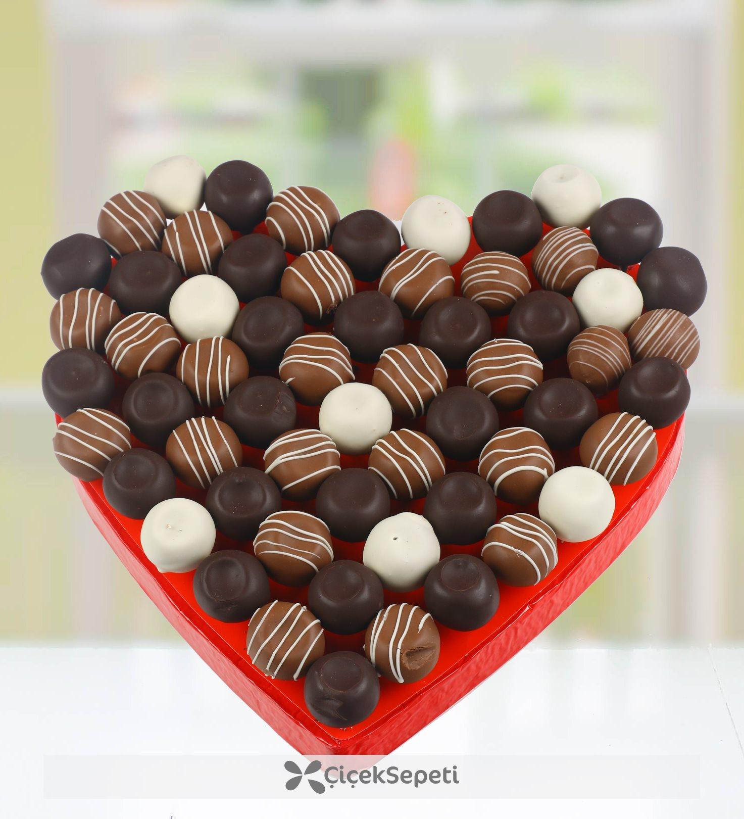 Çikolatalı Yeni yıl Topları