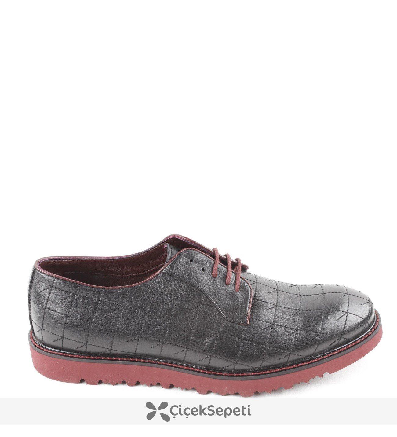 Nakışlı Mevsimlik Erkek Ayakkabı 33