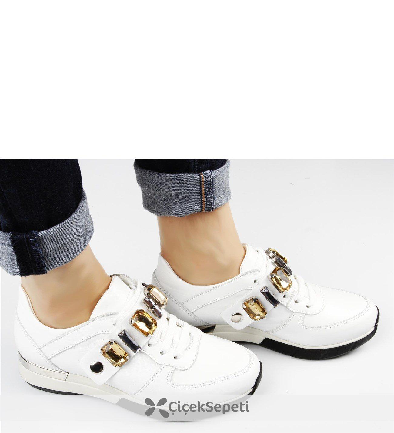 Kemeri Taşlı Bayan Spor Ayakkabısı 229