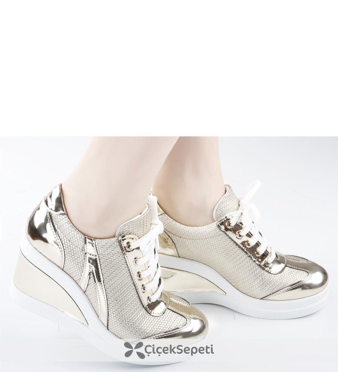 Rugan Dolgu Topuk Günlük Ayakkabı Jenya-35 284
