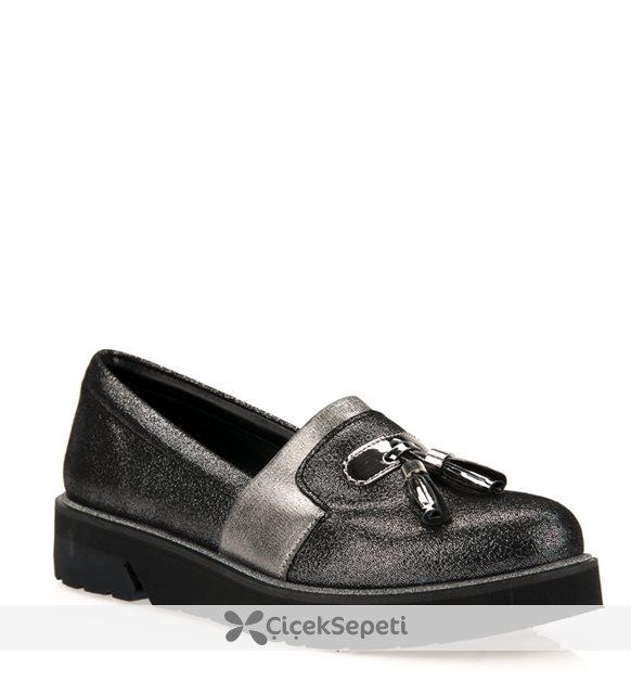 Uniquer Kadın Ayakkabı 7358U 6435 Platın