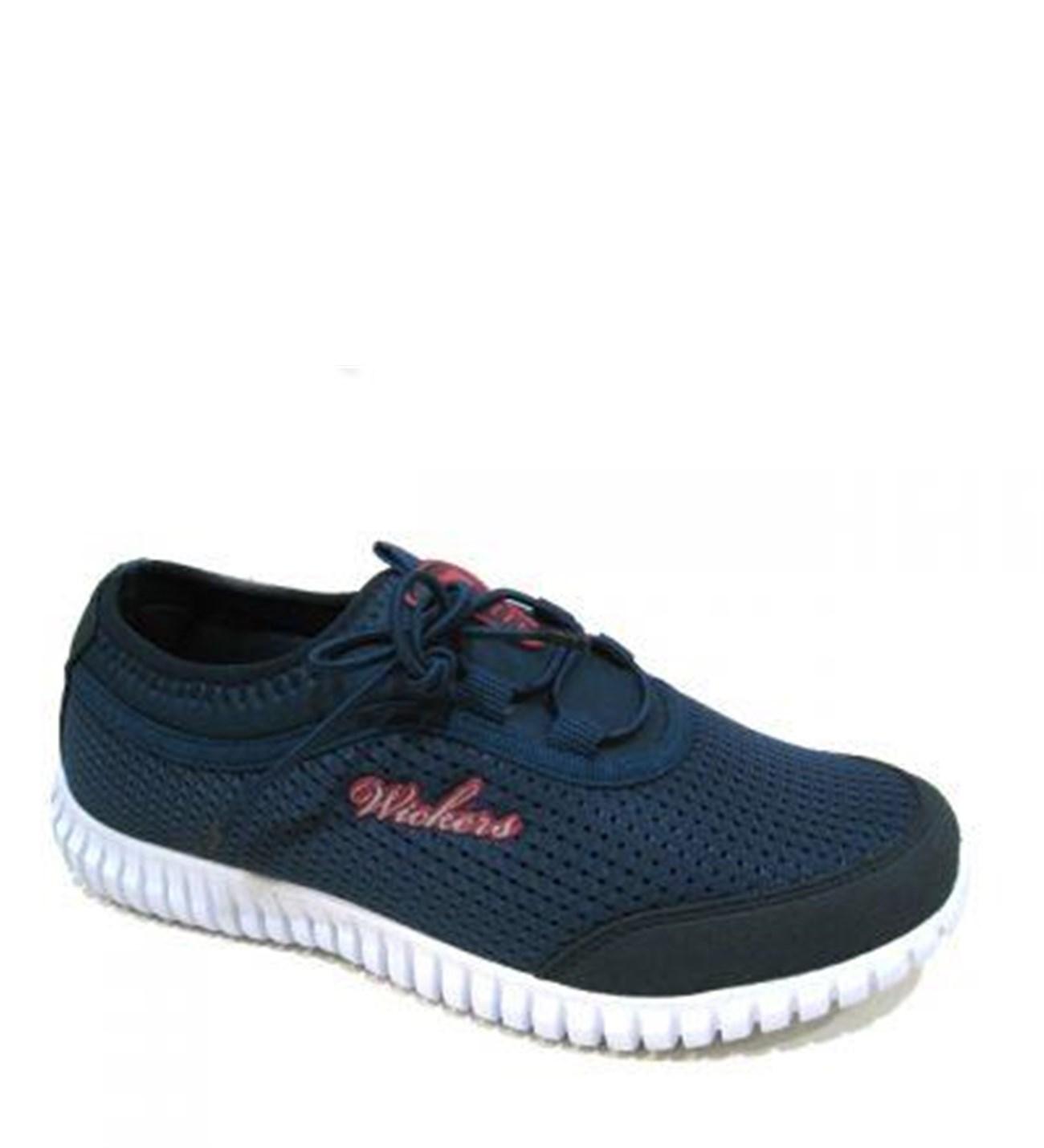 Wickers 1042 Lastikli Yazlık Günlük Yürüyüş Bayan Spor Ayakkabı