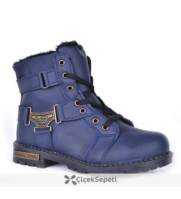 Runtıme Ft 210 Termal Kürklü Erkek Çocuk Kışlık Bot Ayakkabı