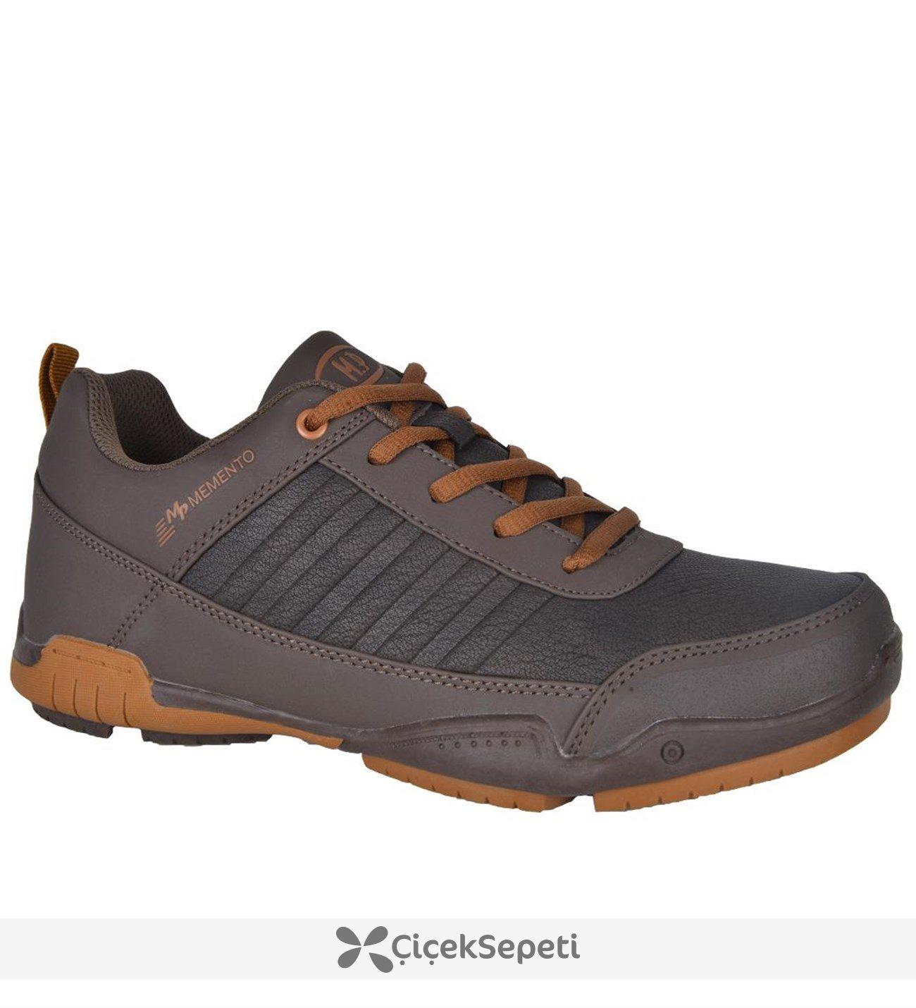 Mp 172-1742 Memento Bağcıklı Ortopedik Erkek Kışlık Spor Ayakkabı