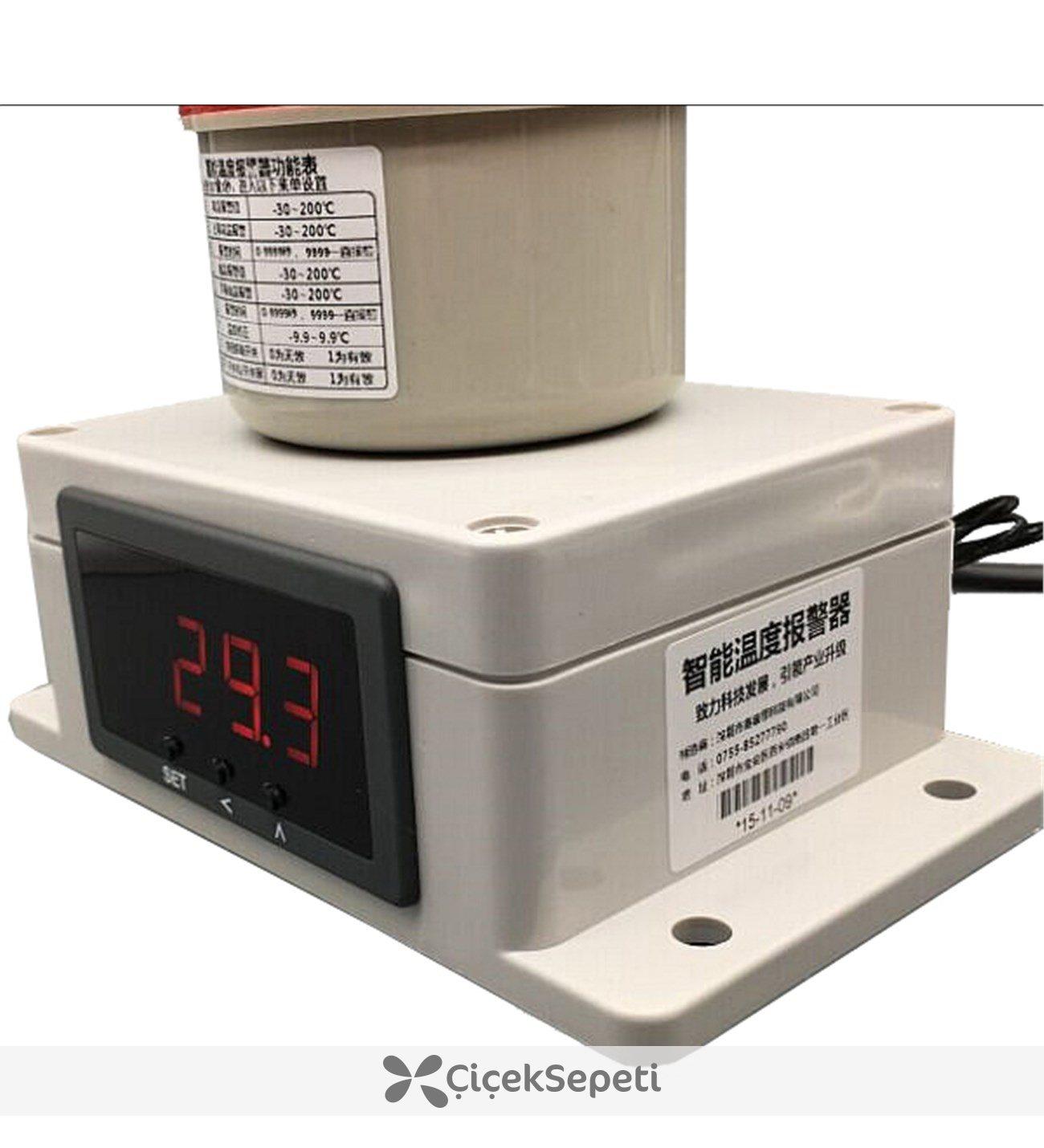 Ik Ve Ses Alarml Termometre 30 Le 200 Derece Aras Thr265 1