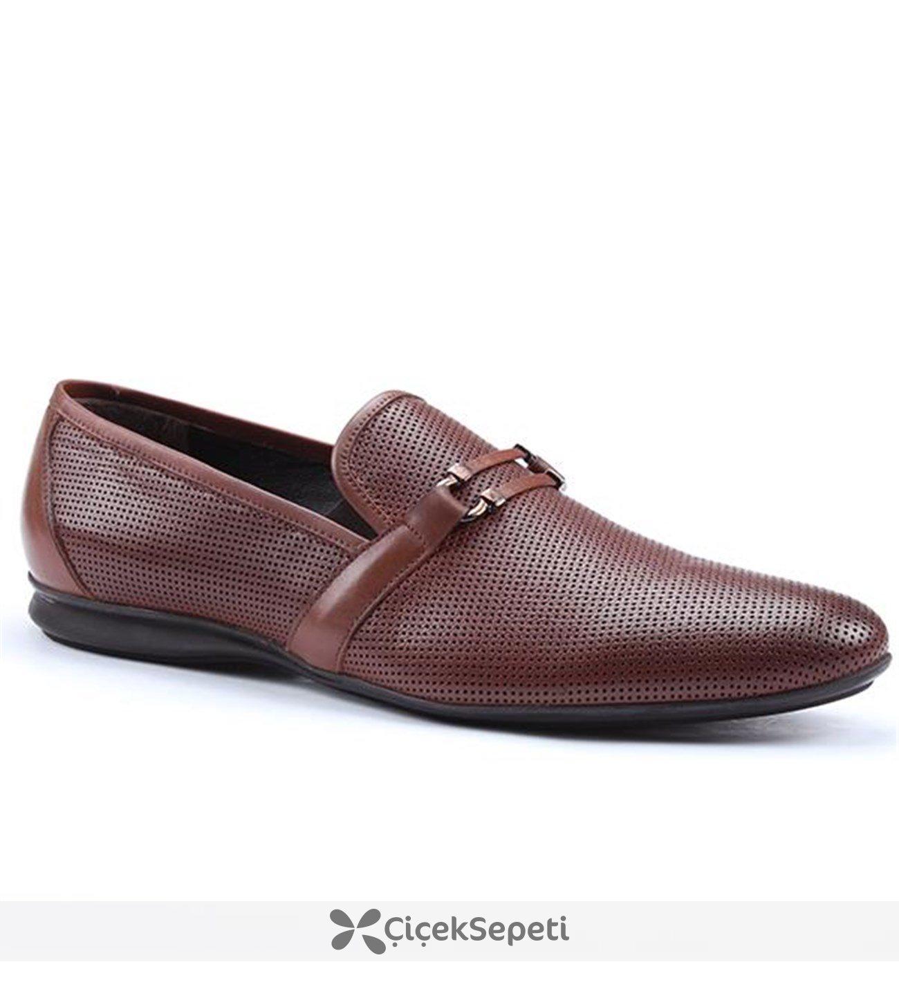 Metropolis 141-11462 Günlük Klasik Erkek Ayakkabı Kahverengi