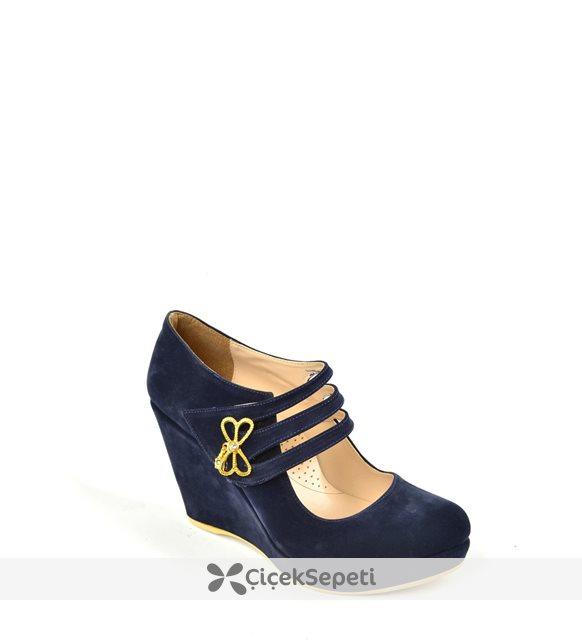 Kaplan Zn 128 Dolgu Topuk Bayan Ayakkabı