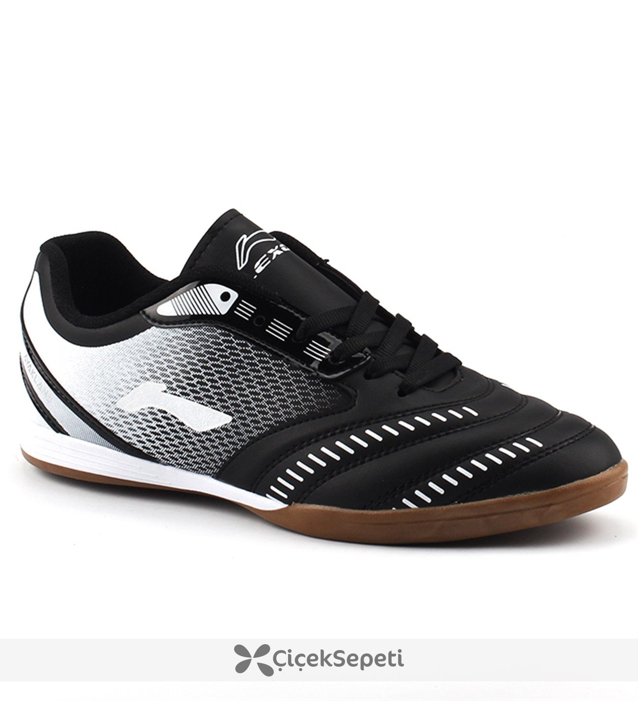 Ayakland 225 Siyah Futsal Hentbol Voleybol Erkek Salon Spor Ayakkabı Siyah