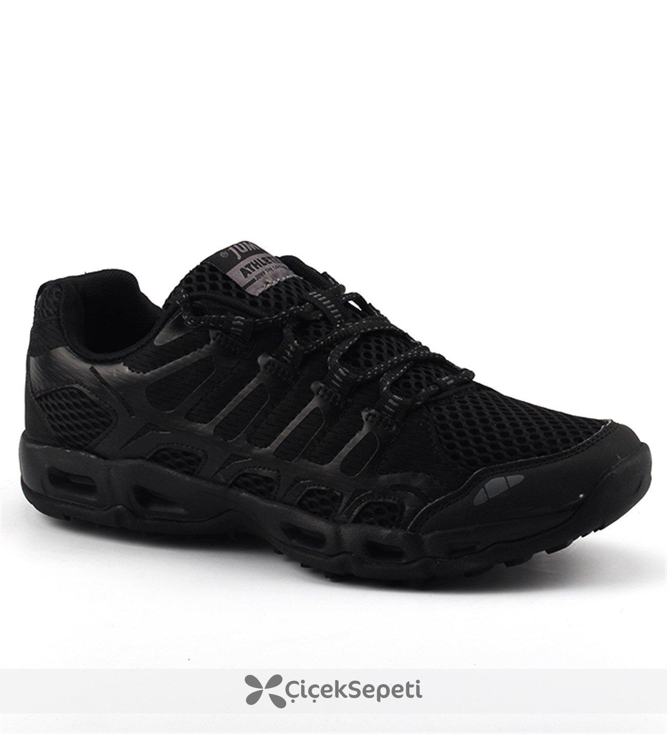 Jump 15424 Siyah Günlük Yürüyüş Koşu Erkek Spor Ayakkabı