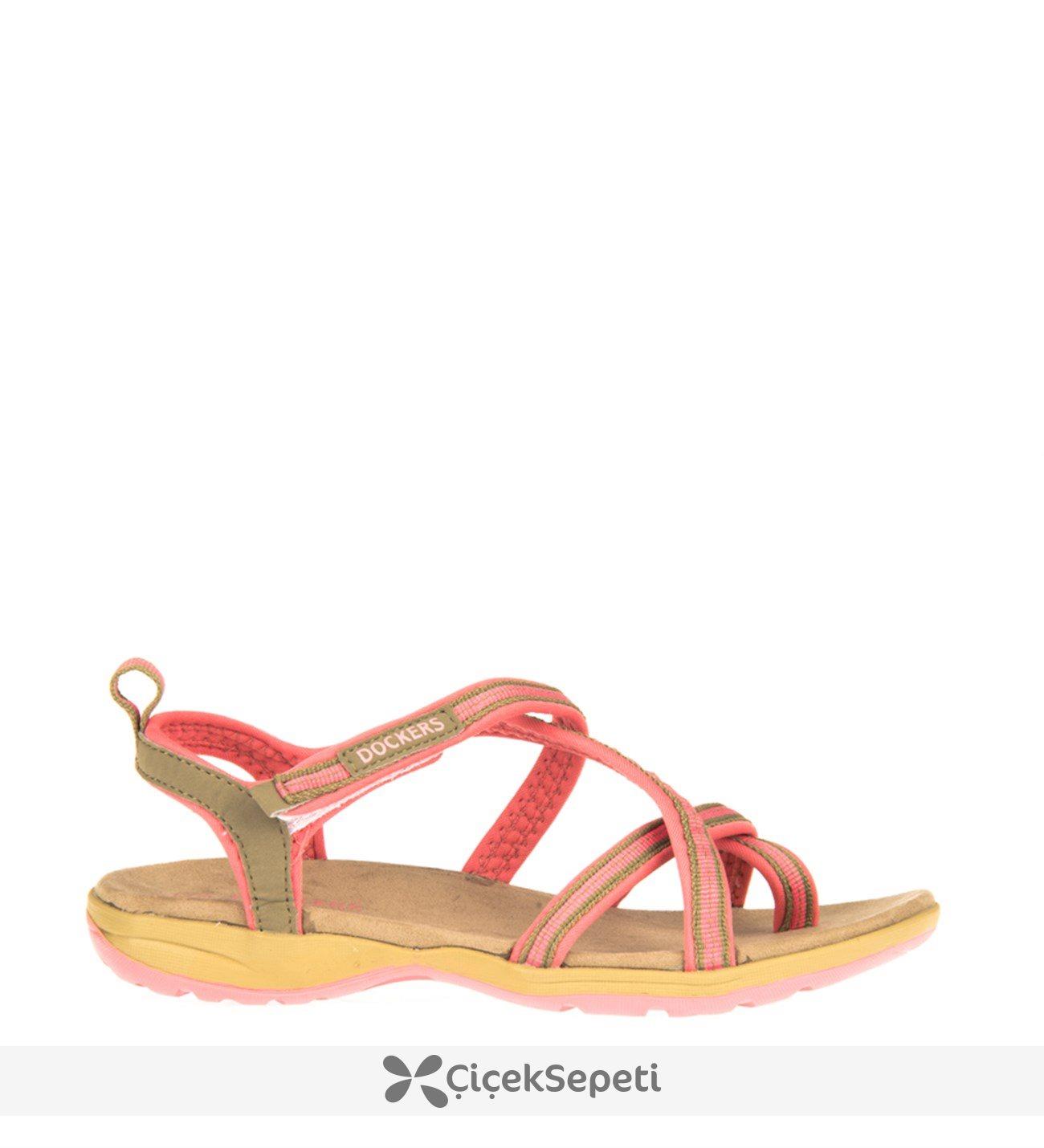 Dockers Kadın Sandalet 8122 218677 Gelincik