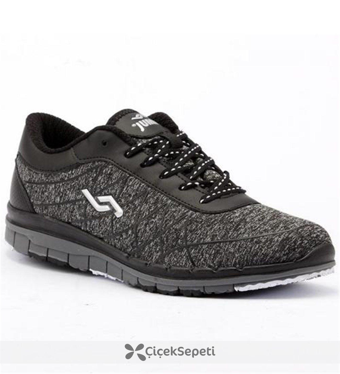 Jump 15072 Günlük Yürüyüş Bayan Spor Ayakkabı Siyah