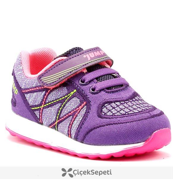 Jump 15681 Lacivert Günlük Yürüyüş Koşu Kız Çocuk Spor Ayakkabı