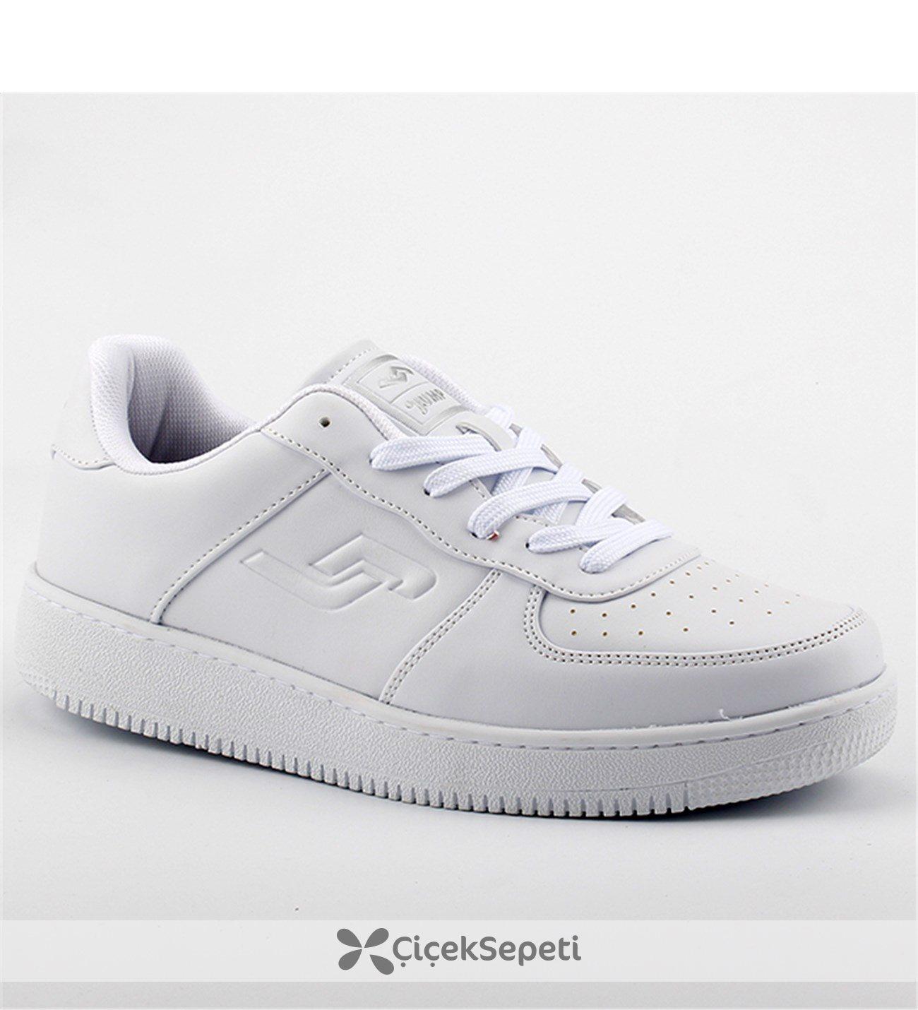 Jump 16313 Beyaz Comfort Günlük Yürüyüş Koşu Erkek Spor Ayakkabı