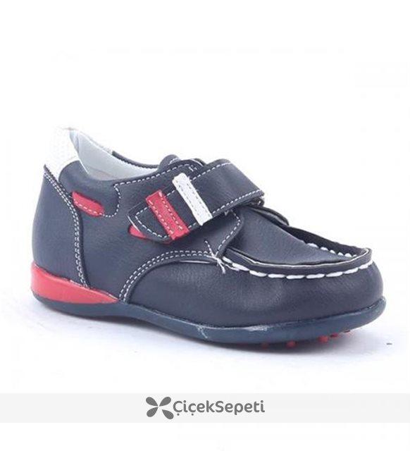 Yükseliş 2000 Ortopedik Günlük Cırtlı Rok Erkek Çocuk Spor Ayakkabı Siyah