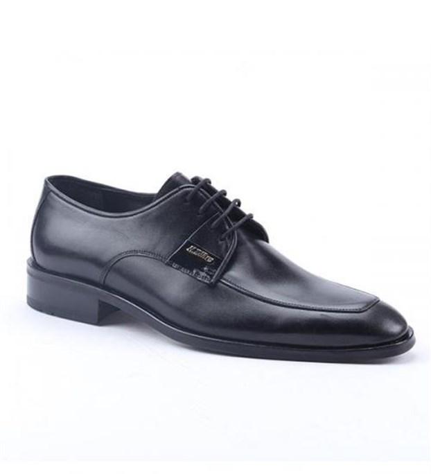 Nevzat Zöhre 1467 %100 Deri Günlük Klasik Erkek Ayakkabı Siyah