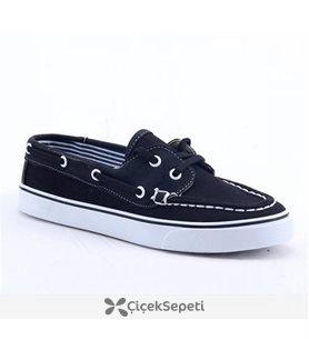 Caprito Y-1050 Ortopedik Günlük Bayan Spor Ayakkabı Siyah