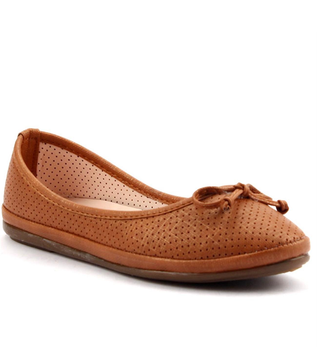 Wanessa 1500 Pudra Kadın Babet Ayakkabı