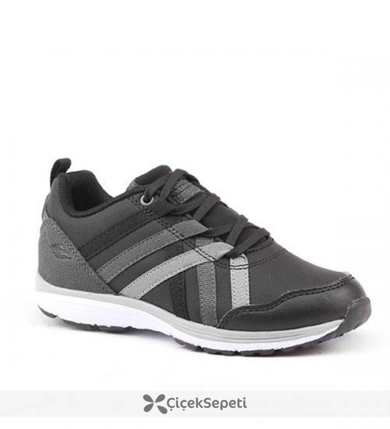 Lescon L-4210 Günlük Koşu Yürüyüş Unisex Çocuk Ayakkabı Siyah