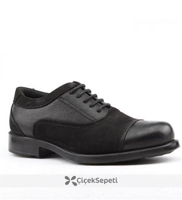 Jump 14646-A %100 Deri Günlük Termo Taban Erkek Ayakkabı