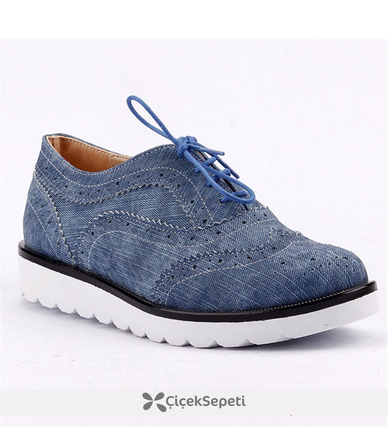 Armoni 40 Bordo Günlük Kadın Oxford Ayakkabı