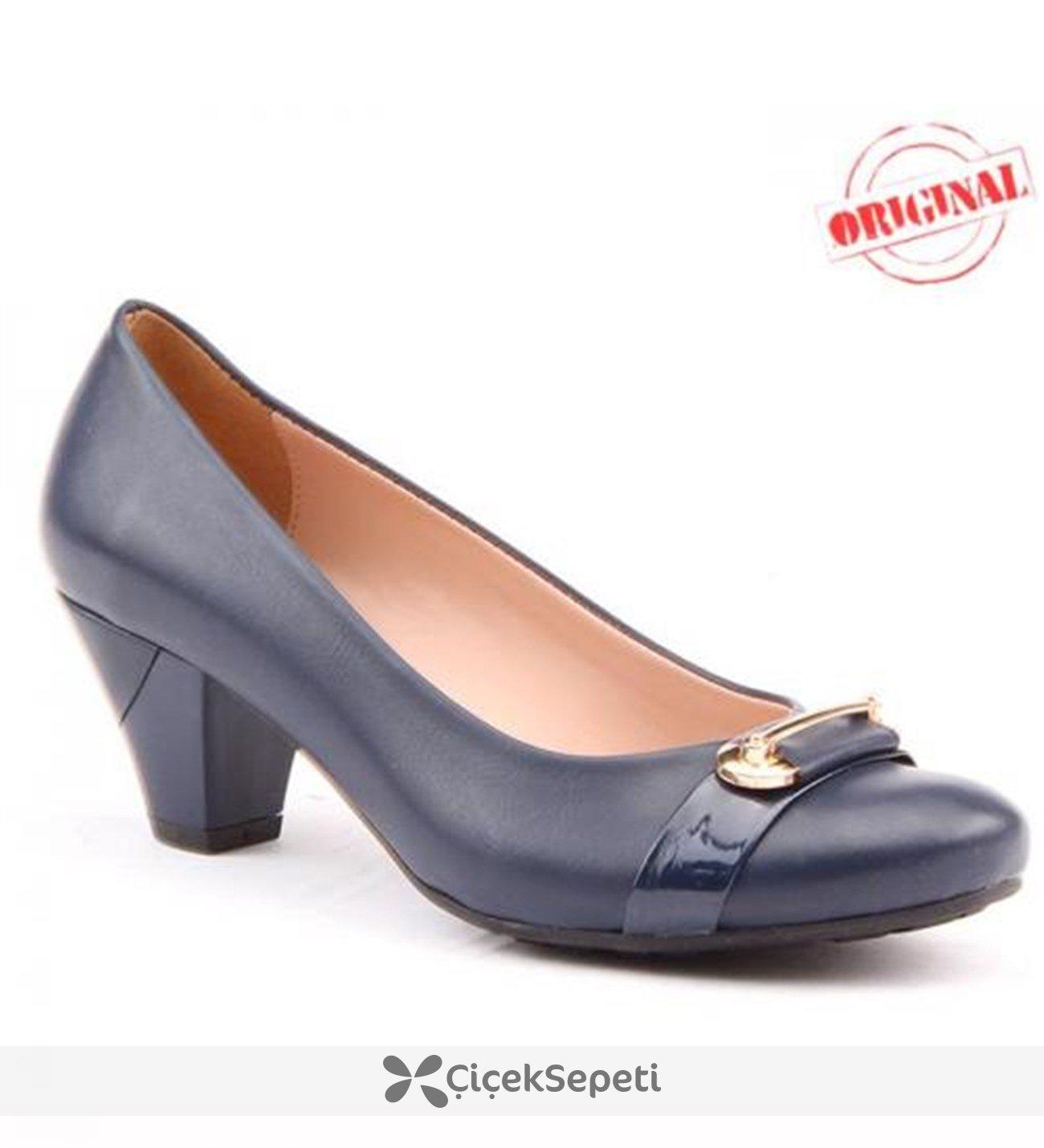 Demirtaş 483 Bayan Ayakkabı Günlük Topuklu Fındık 45 cm