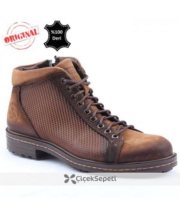 Jump 14517 C Günlük %100 Deri Termo Taban Erkek Bot Ayakkabı