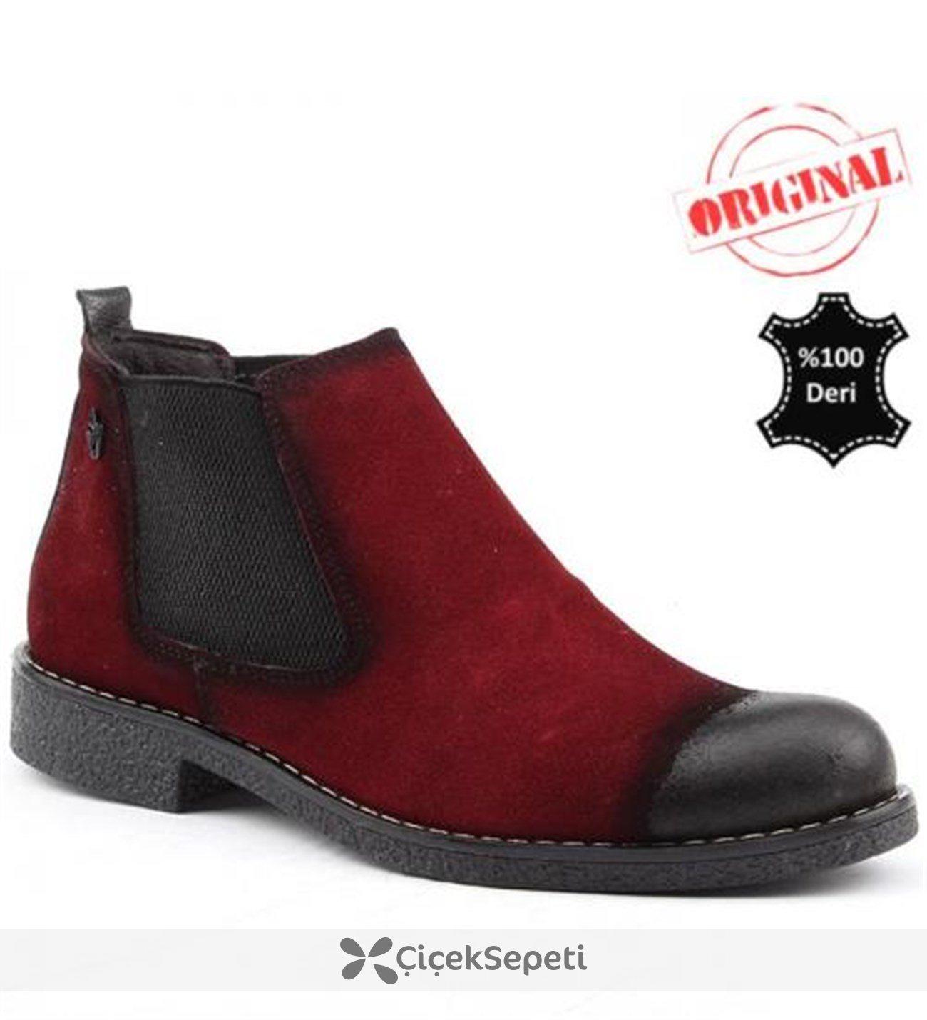 Antioch FS %100 Deri  Erkek Bot Ayakkabı Günlük
