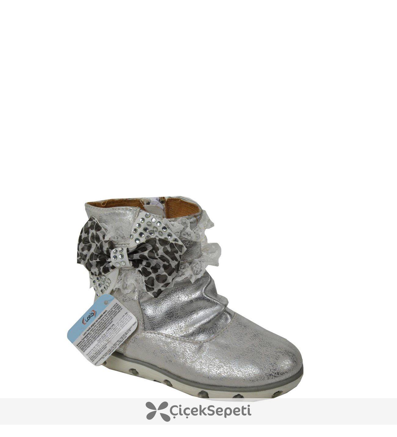 Loris Bebe Kız Çocuk Bot Ayakkabı