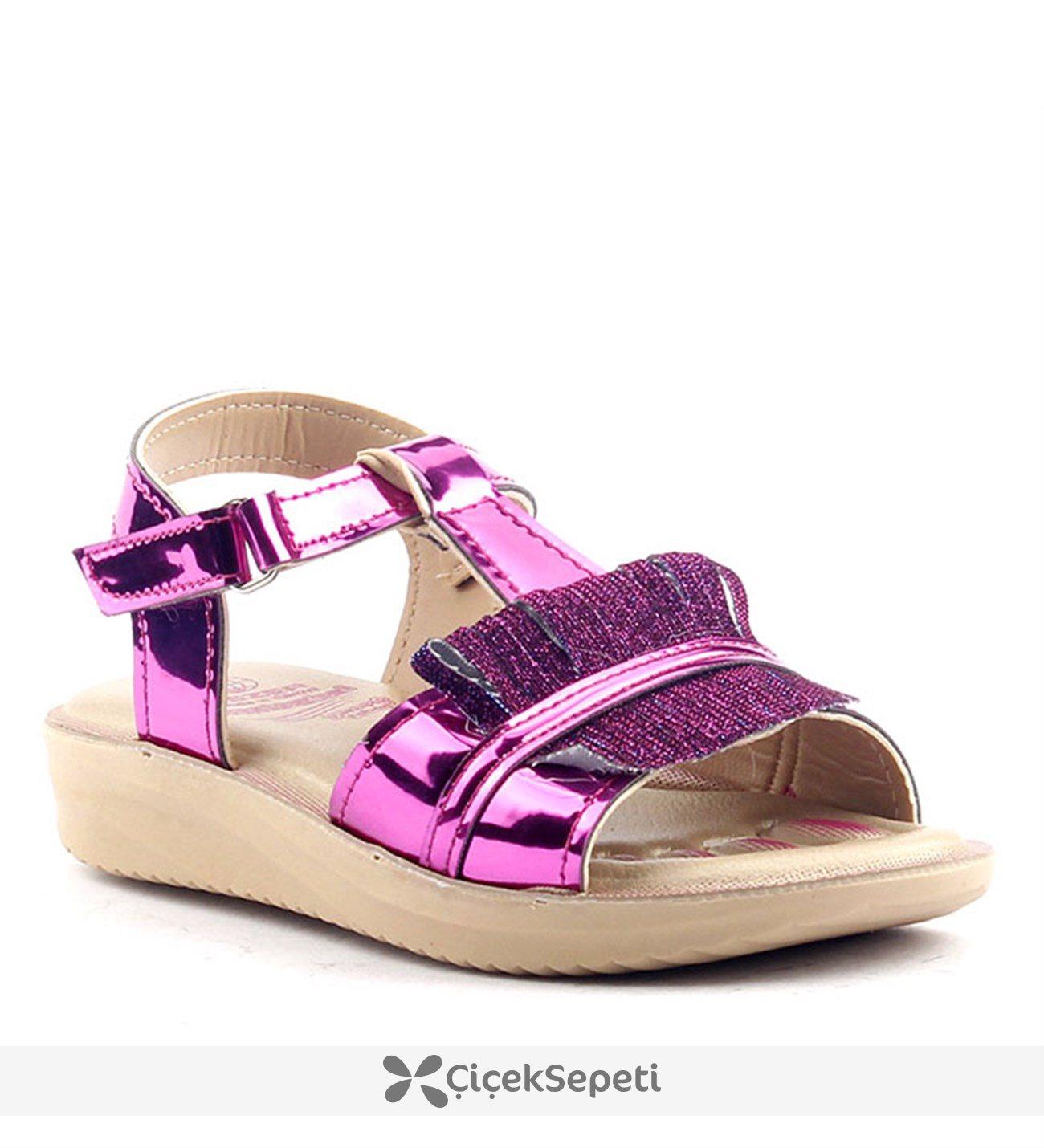 Gezer 9336 Fuşya Kız Çocuk Sandalet