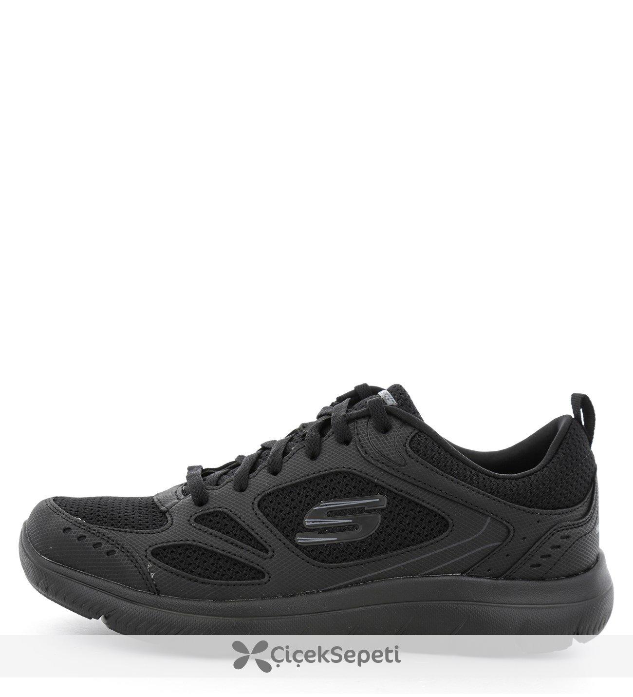 999807-BBK Skechers  Summıts Erkek Günlük Ayakkabı Siyah