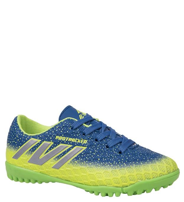 Pro Tracker 817178F Çocuk Halı Saha Ayakkabı 3 Renk Mavi-Yeşil