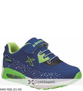 Kinetix 7P Largo Çocuk Spor Ayakkabı 11 Renk Saks-Turuncu