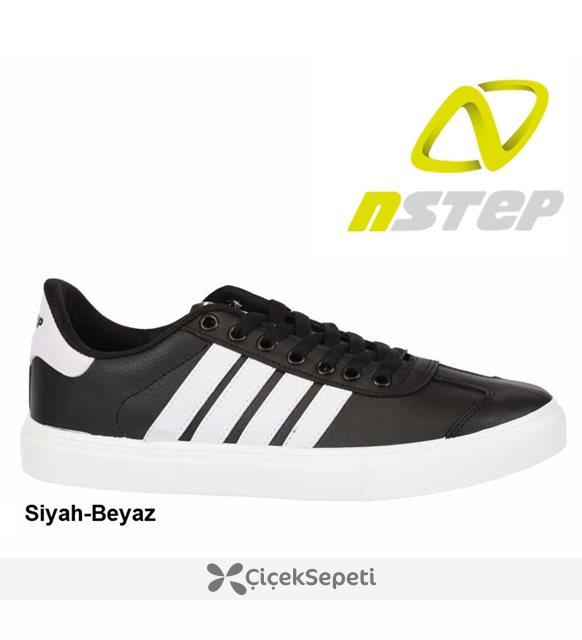 Nstep Concord  Erkek Spor Ayakkabı 5 Renk Siyah-Siyah