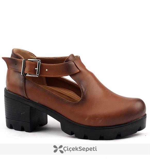 Classy 971 Taba Kadın Günlük Ayakkabı