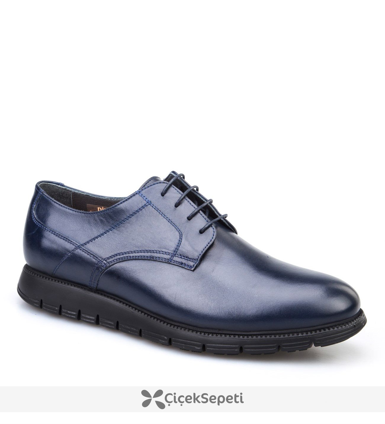 Cabani Extralight Taban Günlük Erkek Ayakkabı Siyah Deri