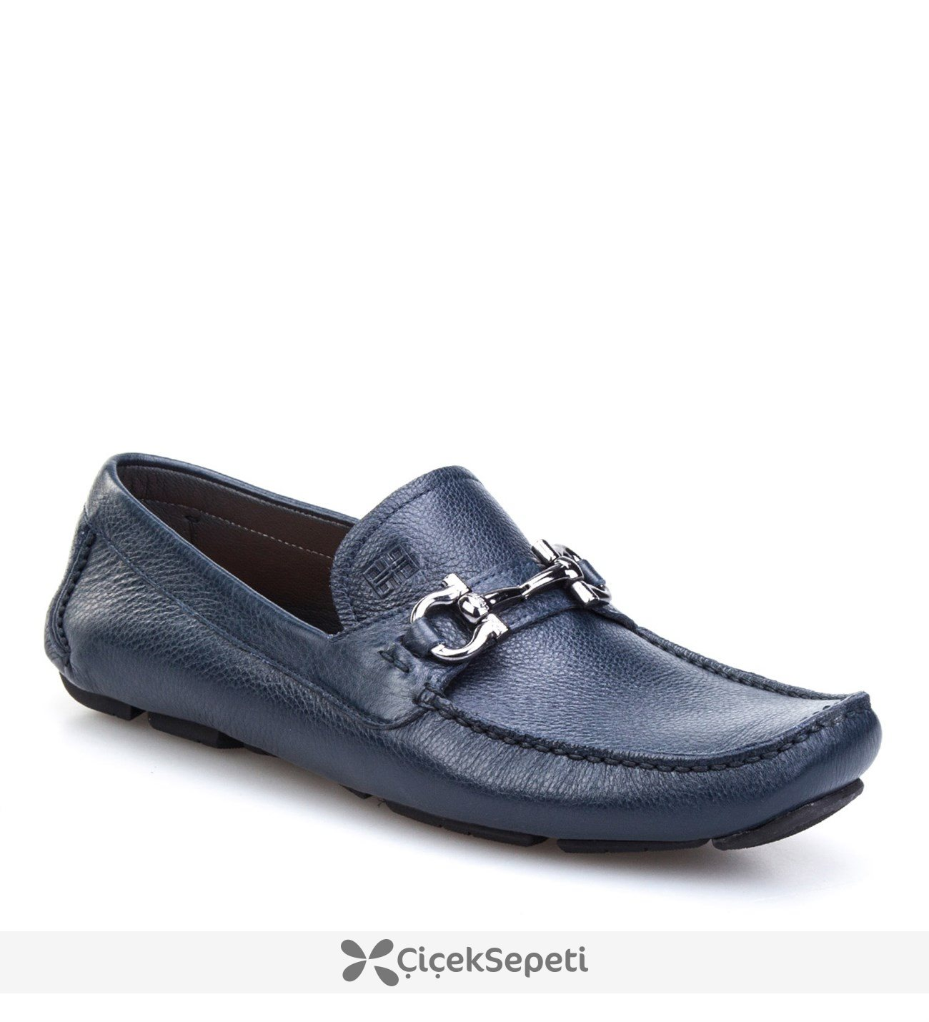 Cabani Tokalı Makosen Günlük Erkek Ayakkabı Kahve Floter Deri