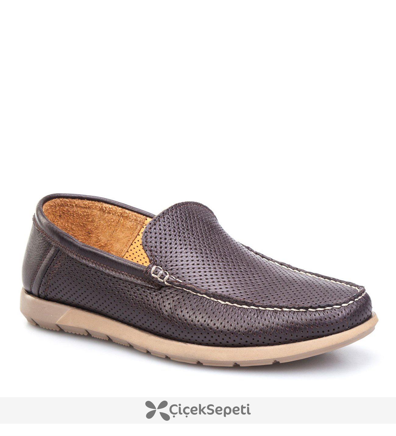 Cabani Extralight Günlük Erkek Ayakkabı Kahve Floter Deri