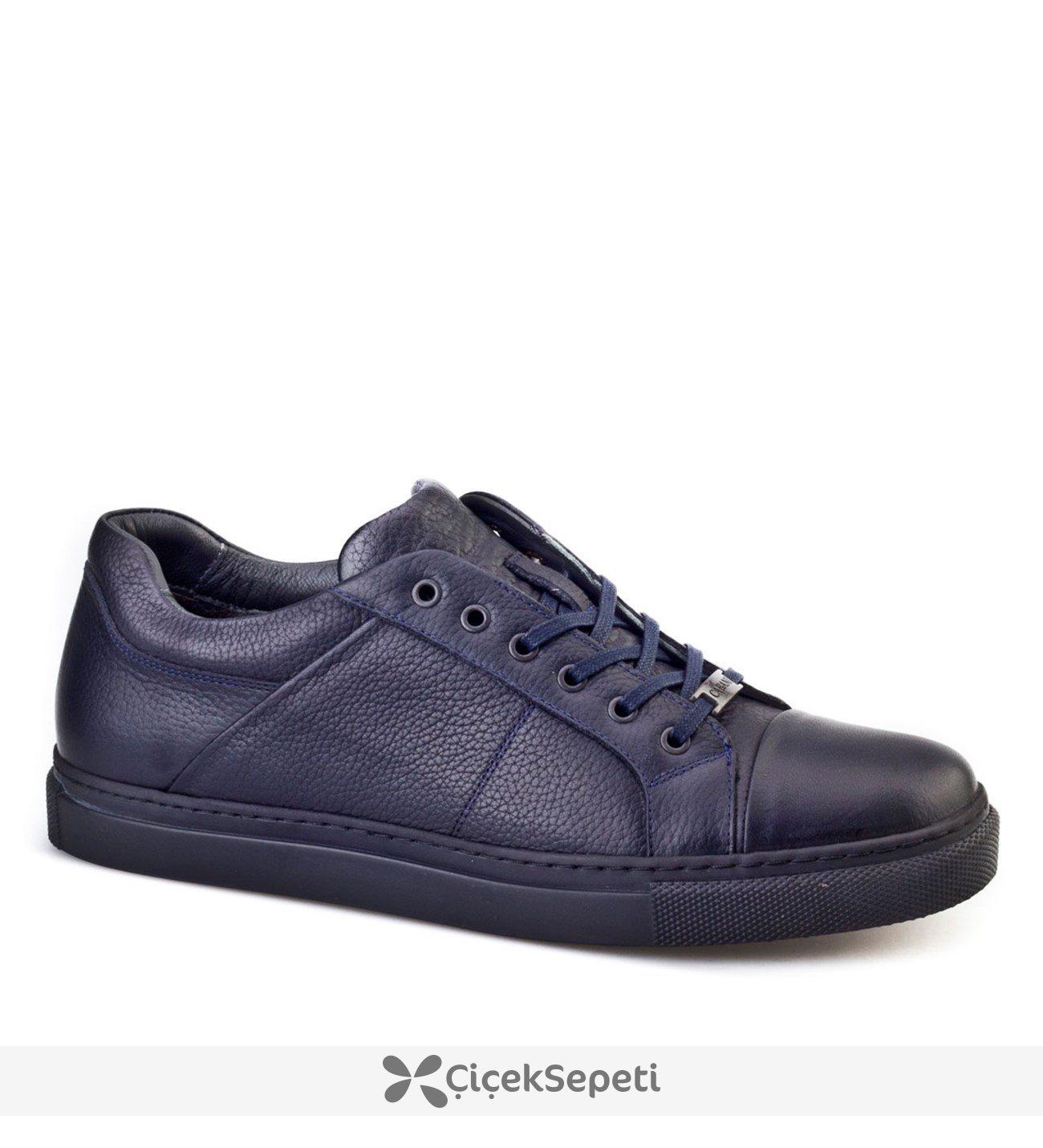 Cabani Erkek Sneakers Günlük Erkek Ayakkabı Lacivert
