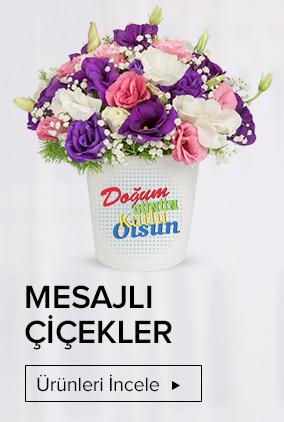 Mesajlı Çiçekçiler